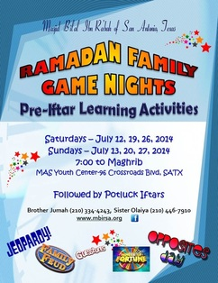 Ramadan Game Nights