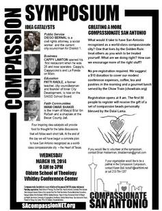 Compassion San Antonio Symposium