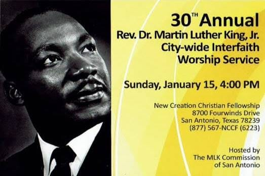 Martin Luther King Worship Service 1/15/17 New Creation Christian Fellowship 4 PM